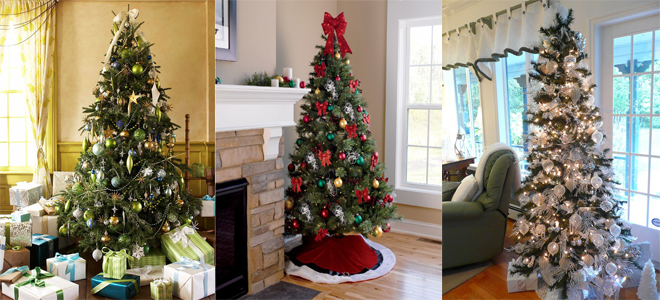 26 Beautiful Christmas Tree Decorating Ideas 2014