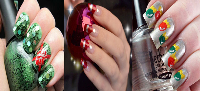 Fresh & Lovely Christmas Nail Art Designs