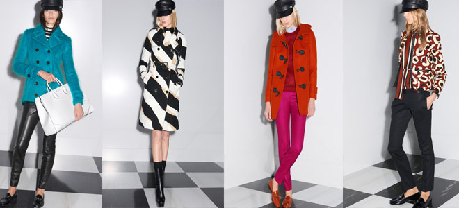 Gucci Pre-Fall 2014 Latest Winter Collection For Women