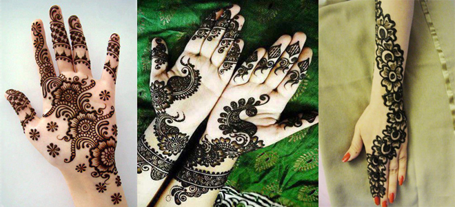 Latest Pakistani Mehndi Designs 2019 Collection