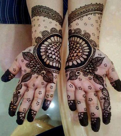 amazing instant Indian mehndi design