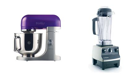 some kitchen appliances