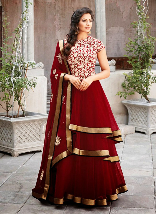 Indian and Pakistani Frock Designs latest-frock-design-for-pakistani-and-indian-girls