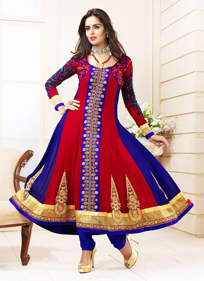 Indian and Pakistani Frock Designs latest-anarkali-frock-for-indian-pakistani-women