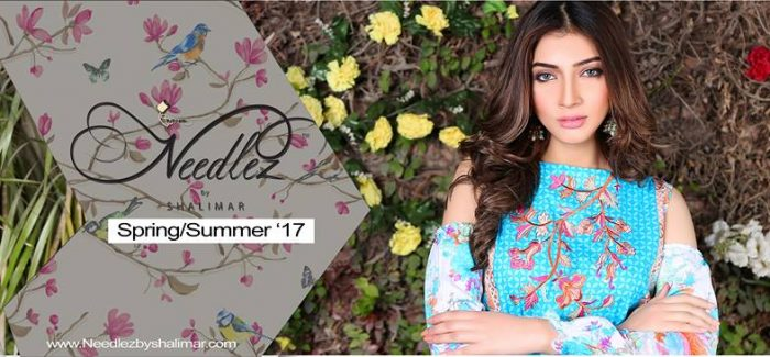 Needlez By Shalimar Party Wear Spring Dresses For Women 2017
