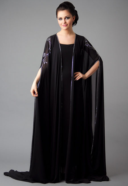 casual wear abaya design for girls
