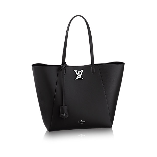 Black handbag by Louis Vuitton