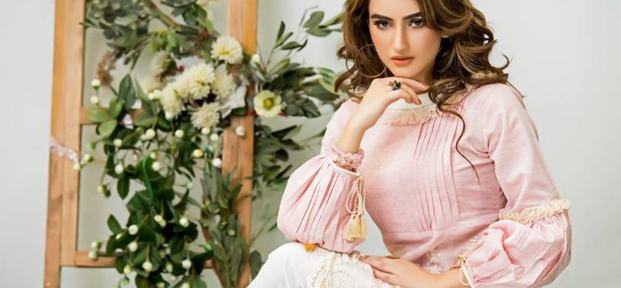 Zahra Ahmad Casual Wear Spring Dresses 2017