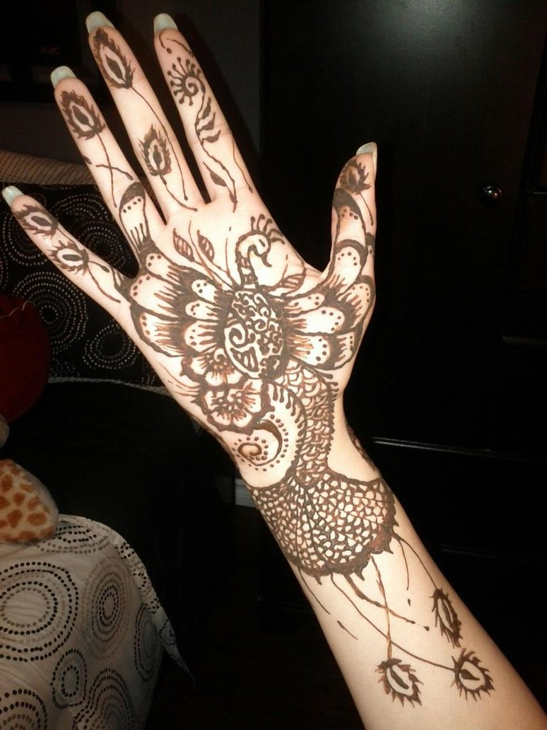 Mehndi Designs Peacock : Latest peacock mehndi designs and ideas beststylo