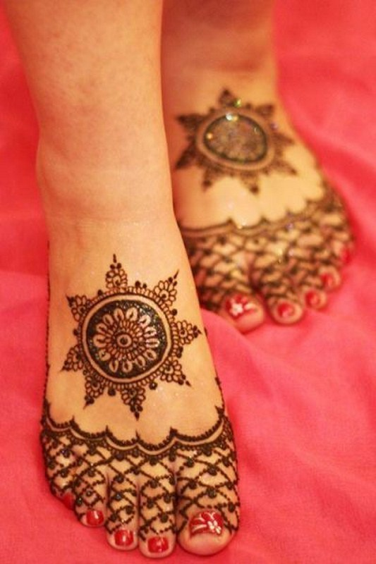 New Floral Mehndi Designs For Hands And Feet 2018 Beststylo Com