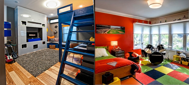 New Amazing Bedroom Decor Ideas For Teenage Boys 2015