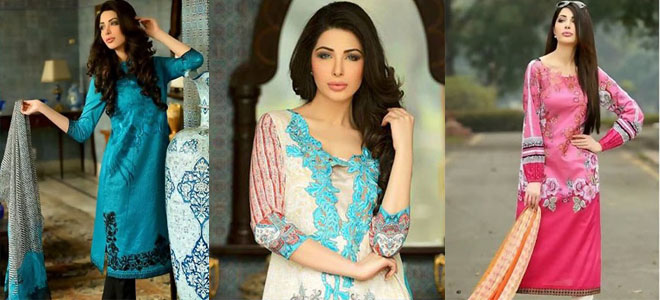 Sobia Nazir Summer Lawn Collection 2014 Volume 1