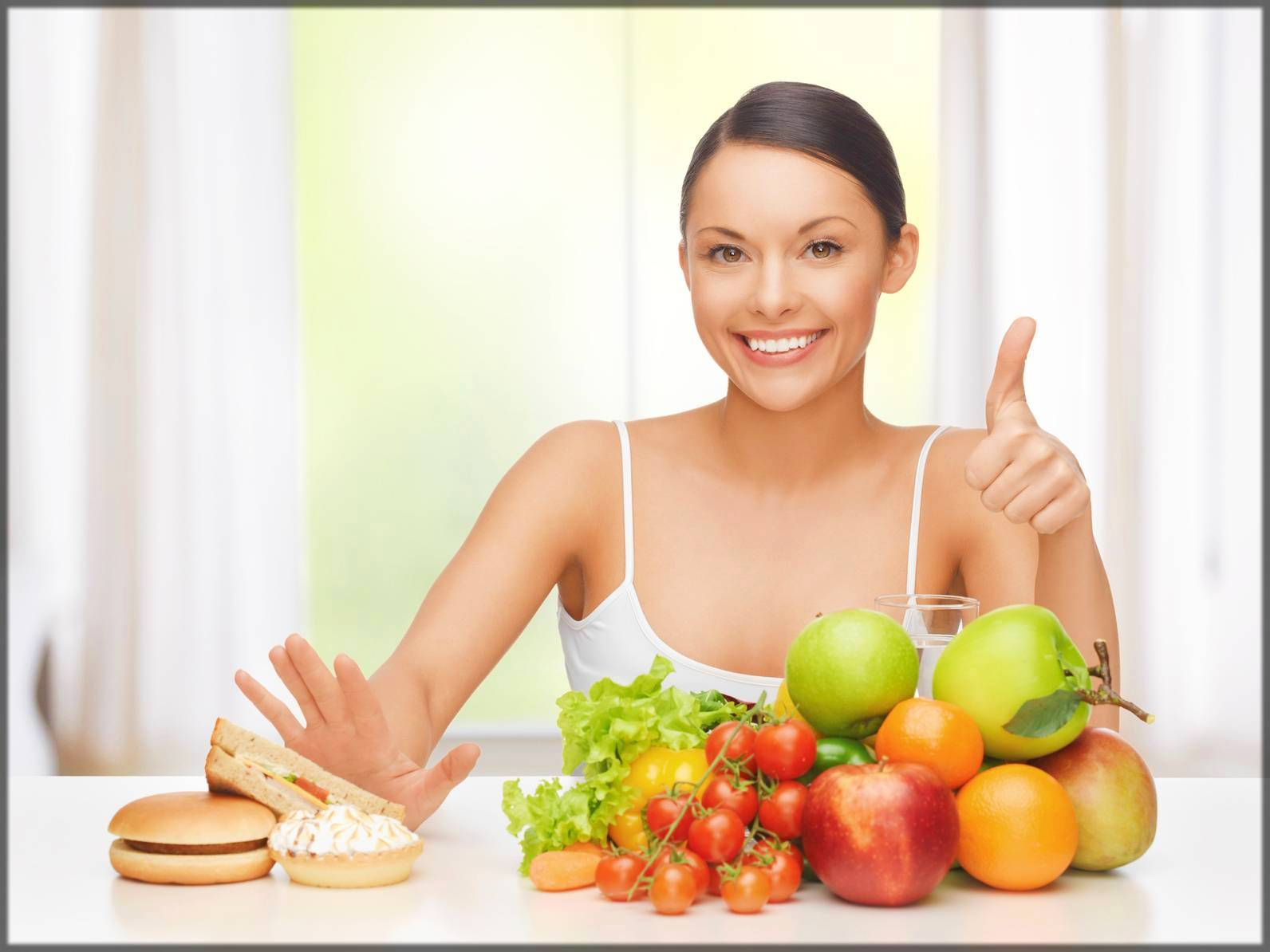 eat healthy for flawless skin