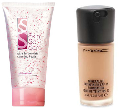 serum & foundation