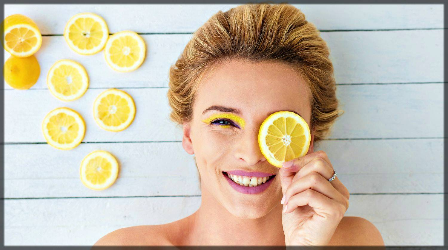use lemon as a natural remedies for acne scars and blemishes