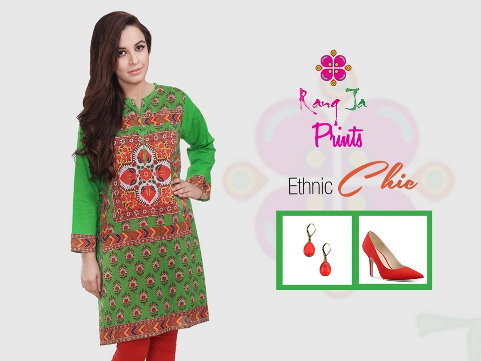 Ethnic Chic Eid Attire By Rang Ja 2017