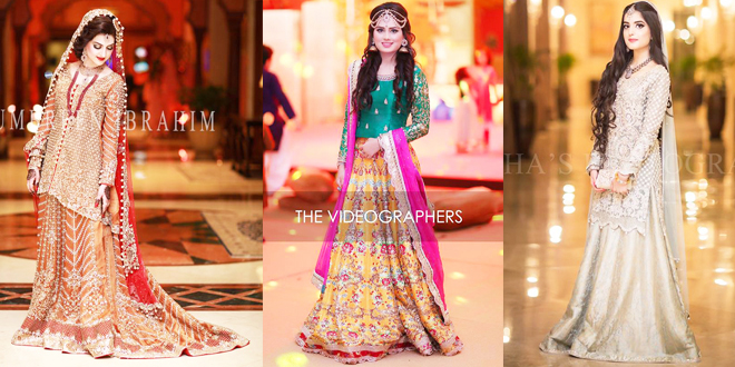 Latest Pakistani Designer Bridal Wedding Dresses 2019