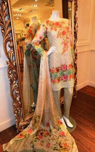 Threads And Motifs Emb Ready To Wear Tunic For Eid