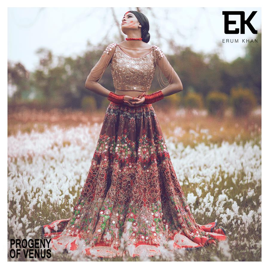 Wedding Gown Dress by Erum Khan