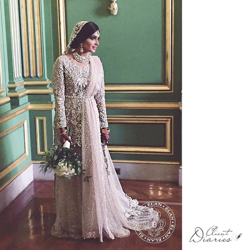 Elan Wedding Gown Walima Dress for Brides