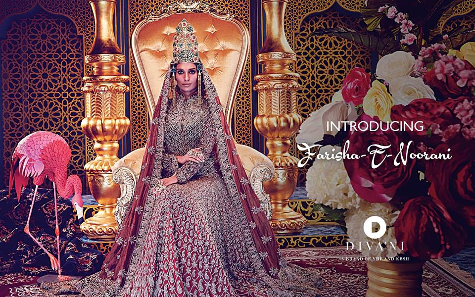 Farisha-e-Noorani Bridal Wear by Diva'ni