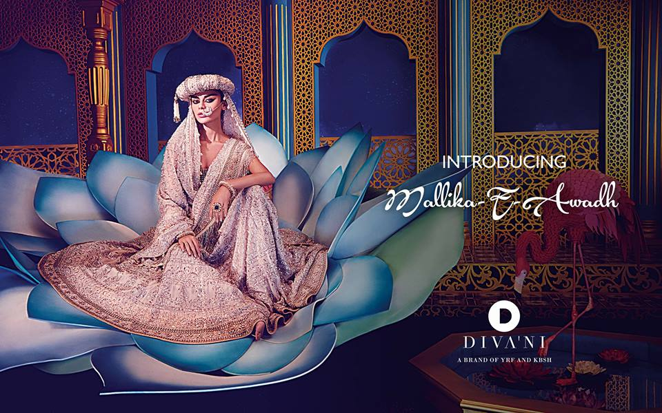 Mallika-e-Awadh Bridal Dress by Diva'ni