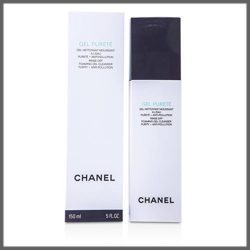 chanel gel purete cleansers for oily skin