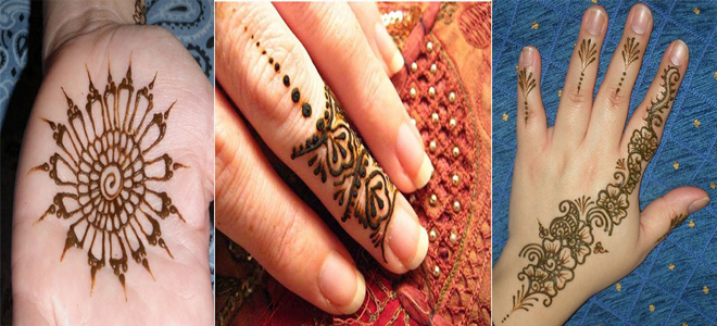 Easy &Simple Henna Designs For Beginners