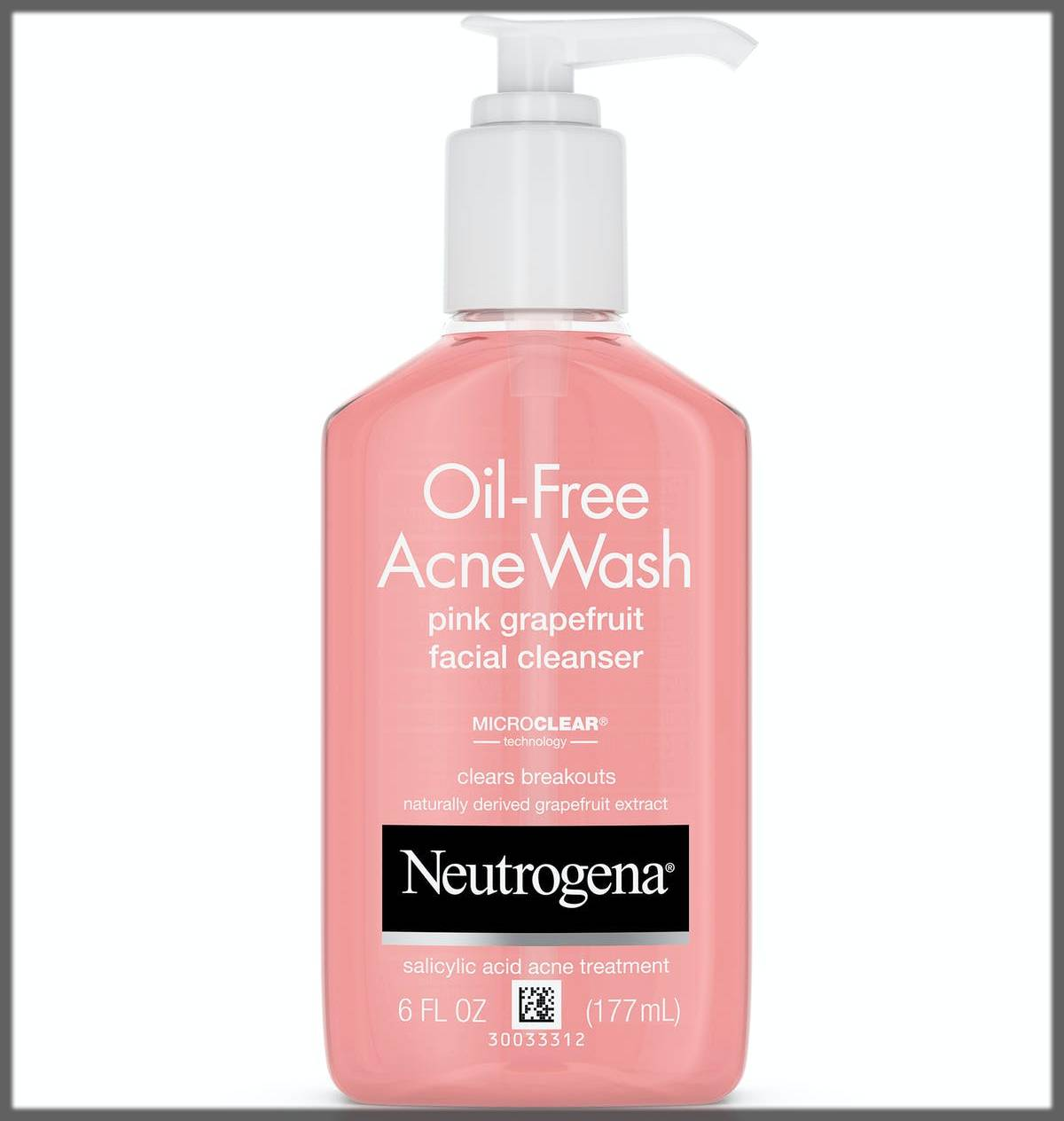 neutrogena oil free cleanser for oily skin