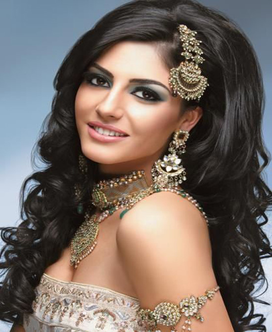 Indian Bridal Hairstyles For Long Hair: Best Trendy & New Indian Hairstyles For Women 2015