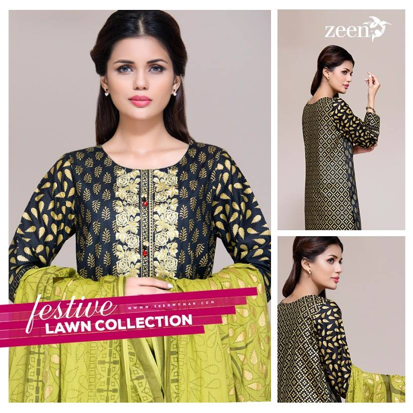 Gold Glamour by Zeen Eid Collection