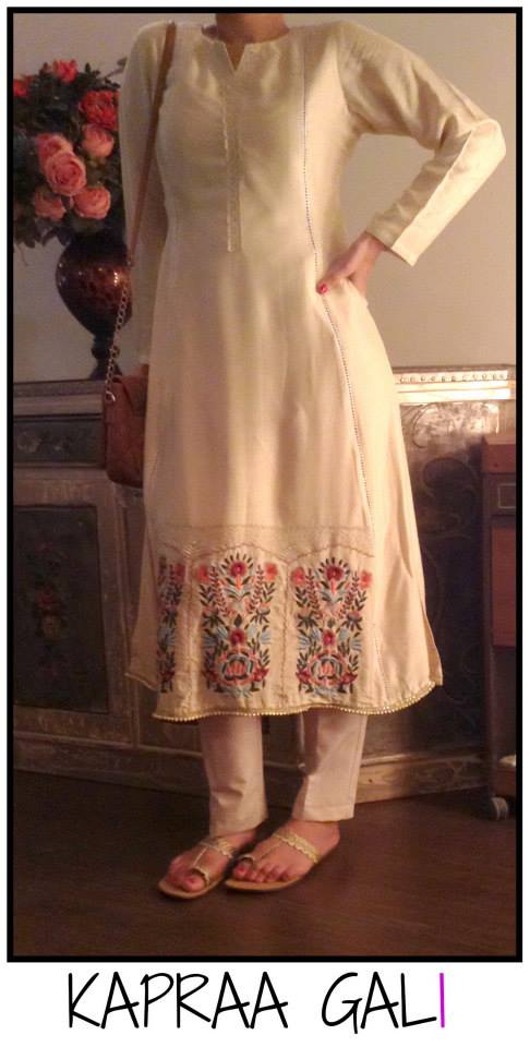 Kapraa Gali By Anum Jung Latest Eid-ul-Azha Dress 2017