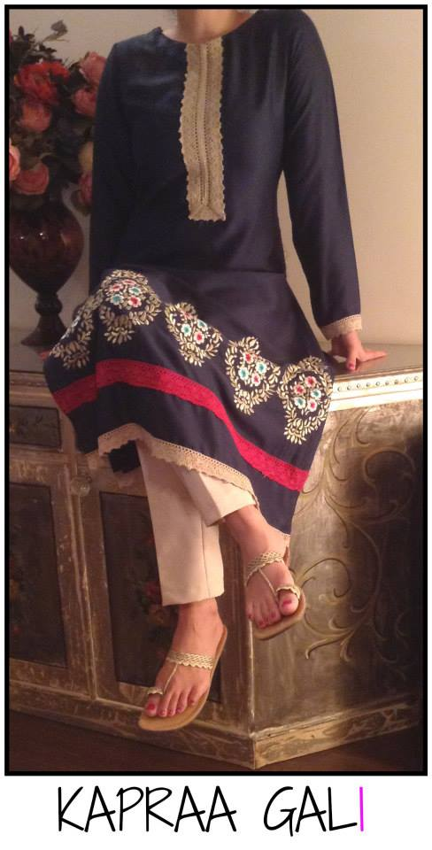 Kapraa Gali By Anum Jung Latest Eid-ul-Azha Dresses 2017