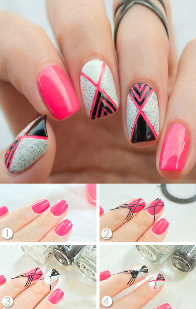 Easy Nail Art Designs For Beginners Step By Step