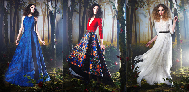 Alice & Olivia Fall Winter Dress Collection For Women 2014-2015