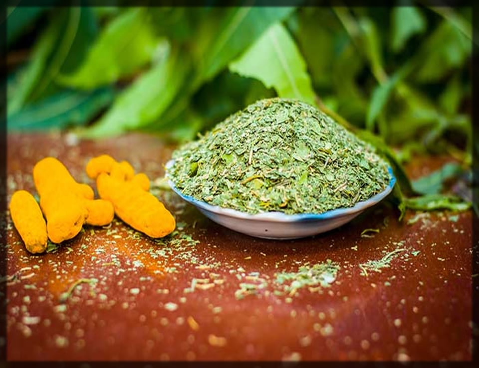 neem and turmeric for pimples