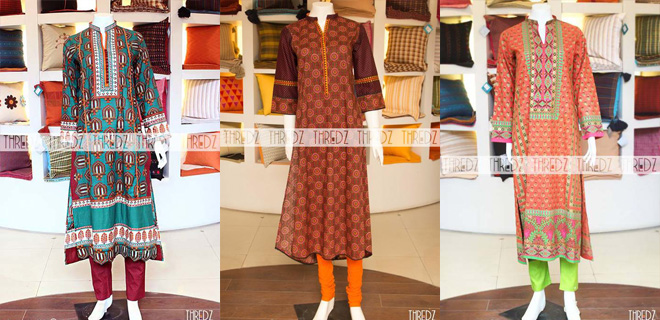 Thredz New Stunning Fall Winter Collection For Women 2014-2015