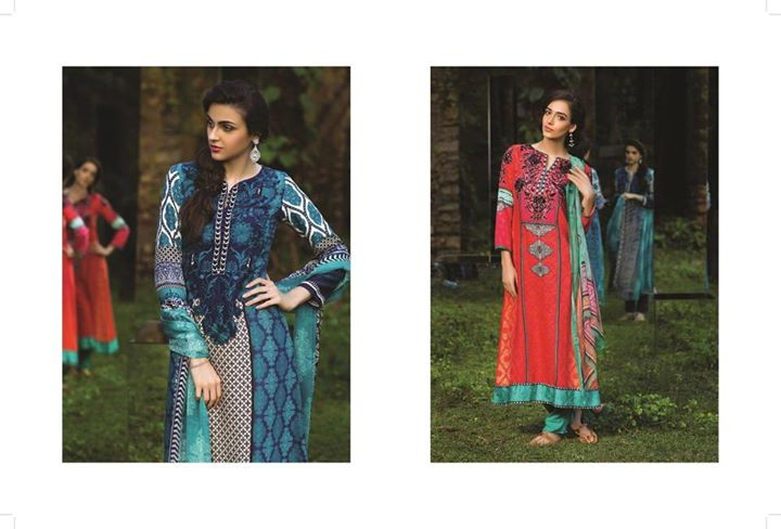 elegant winter outfit by maria b indian pashmina collection