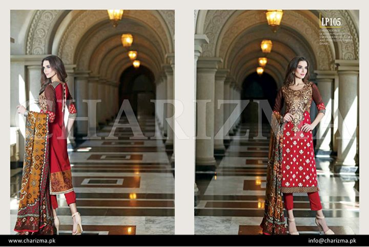 Bright red dress by charizma vol 3 for winters