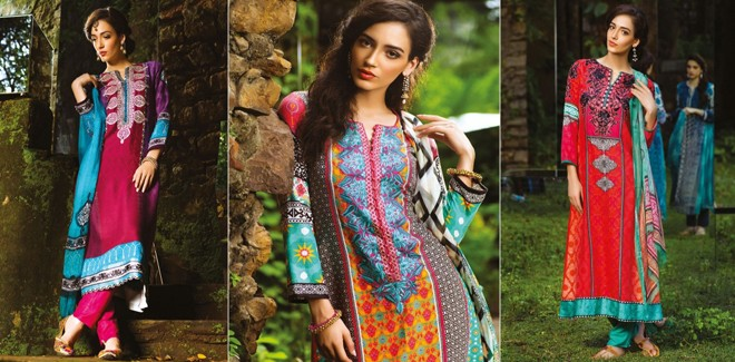 Maria B New Linen & Indian Pashmina Winter Collection 2018