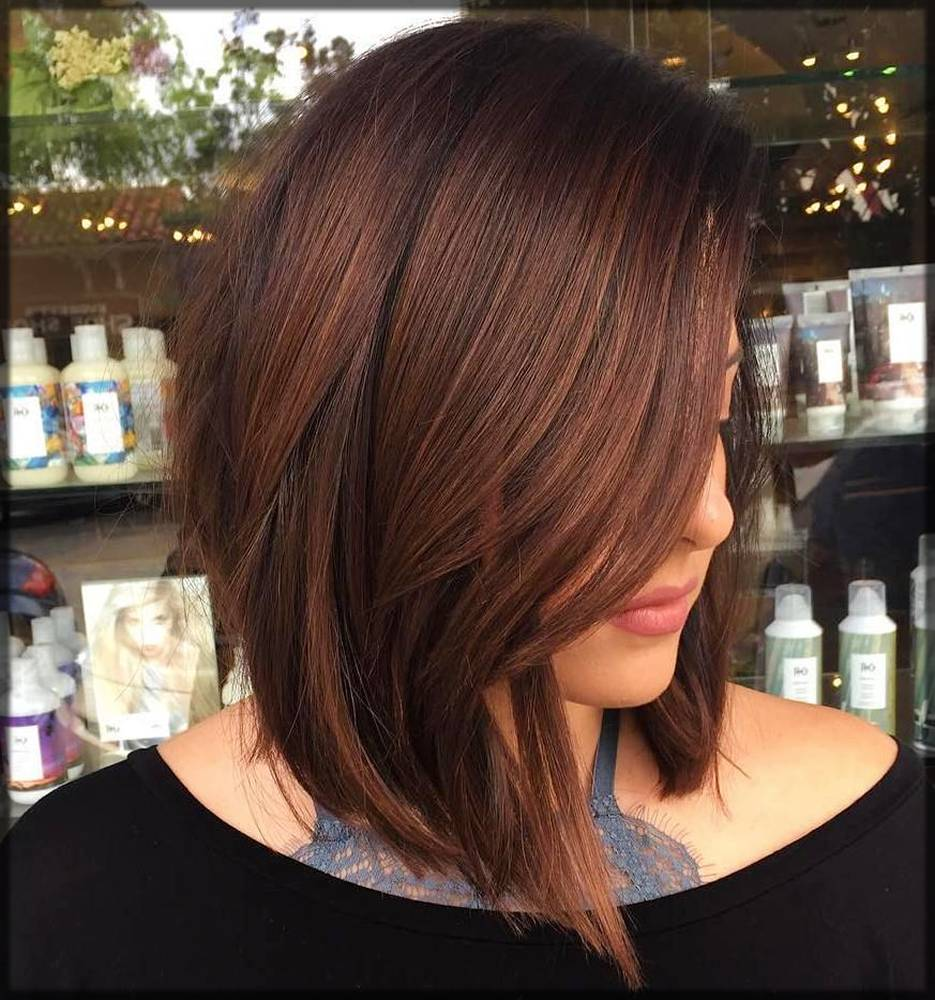 simple and decent bob winter hairstyle for women