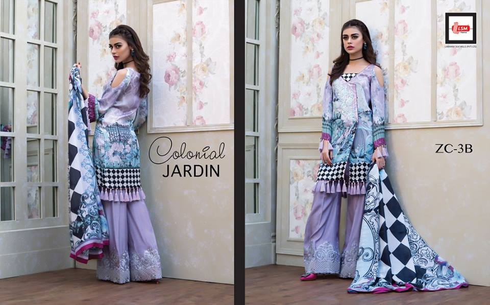 Mauve silk dress for party wear by zainab chottani