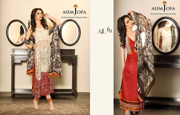 Stylish Lawn Array By Asim Jofa Lawn Collection 2017