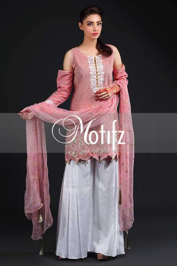 Gharara Style Lawn Outfit By Motifz Vol 2