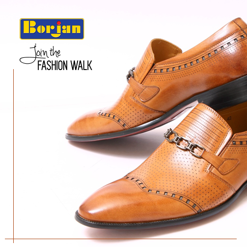 borjan latest chained summer shoes for men summer collection 2017