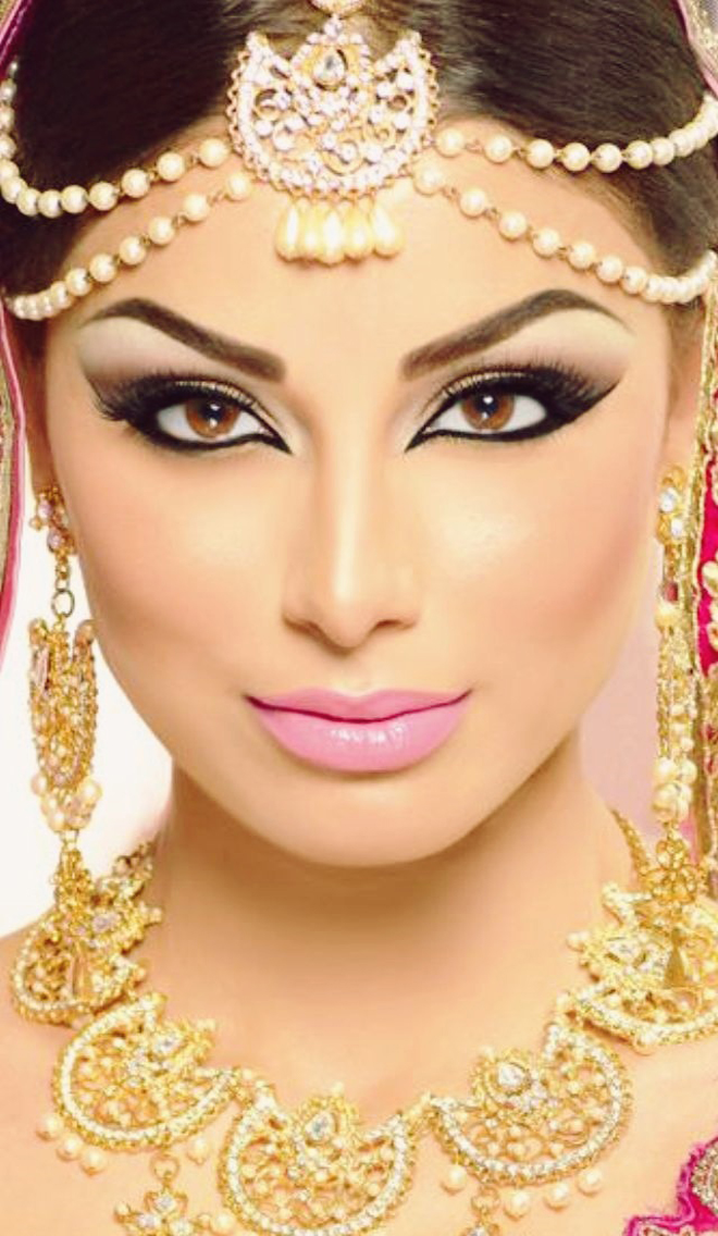 Arabic Bridal Makeup Tutorial With Steps Amp Pictures