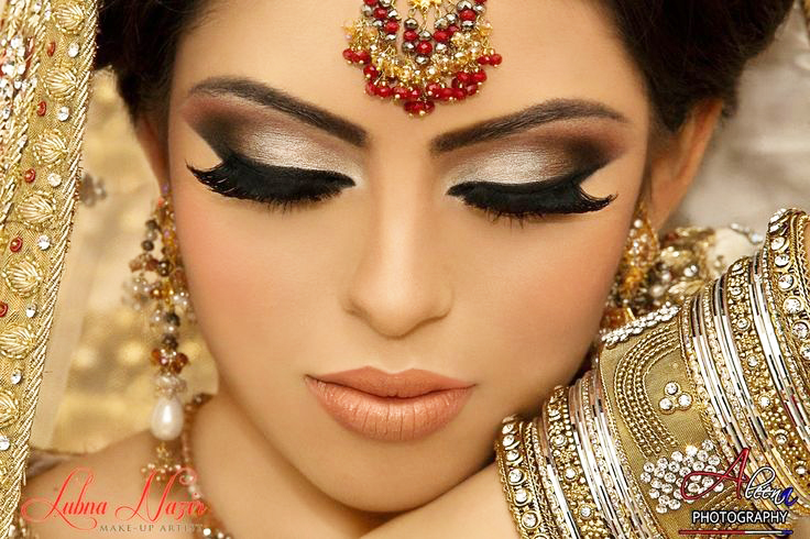 Arabic Bridal Makeup Tutorial With Steps & Pictures ...