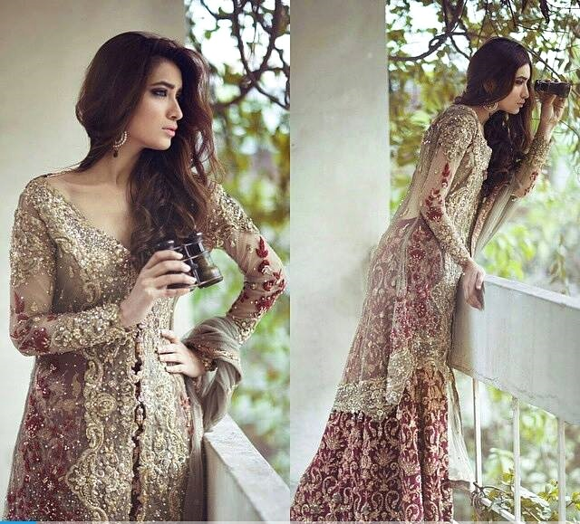 Classy Embroidered Bridal Wear Dresses 2017 By Saira Rizwan