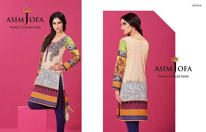 Asim Jofa tunic quirky chic print