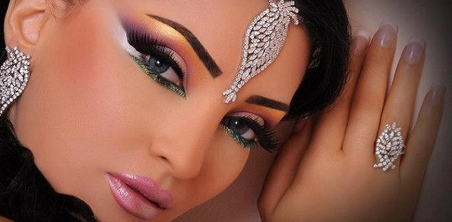 Arabic Bridal Makeup Tutorial With Steps & Pictures